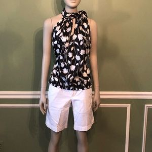 Lilly Pulitzer- Palm Beach Fit, white shorts, sz 2